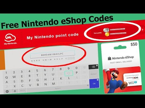 how to get free nintendo switch eshop codes